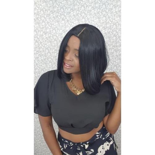 peruca chanel preto