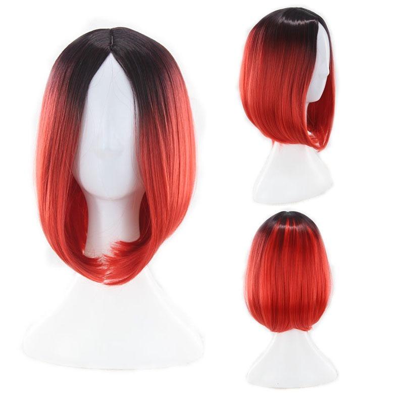 9542e444b peruca cosplay chanel ombre ruiva vermelha pronta entrega. Carregando zoom.