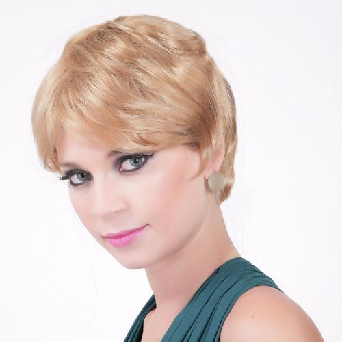 peruca curta sintetica iasmim #24b27c
