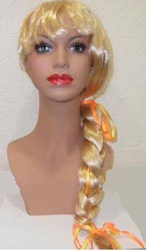 peruca festa junina mariazinha 2 sintética fio nacional