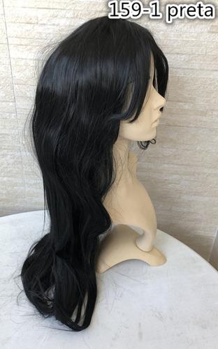 peruca longa carnaval festa natal 293 parece cabelo humano