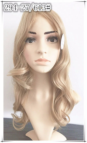 peruca longa parece cabelo natural 294/27/613 loiro claro