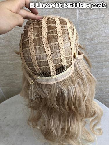 peruca para dia a dia 292-27-613 fibra organico parece human