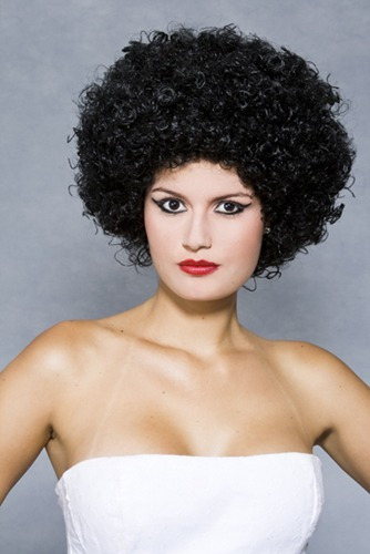 peruca sintética black fio nacional