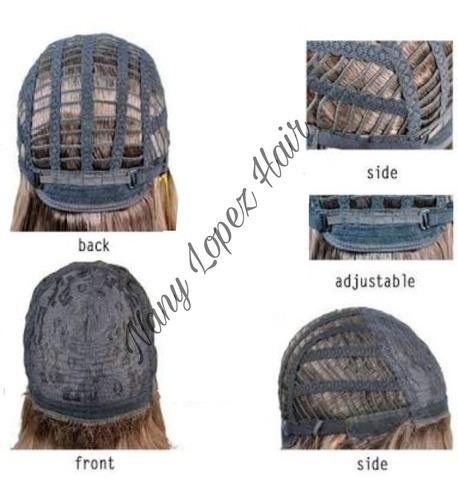 peruca wig stef - nany lopez hair