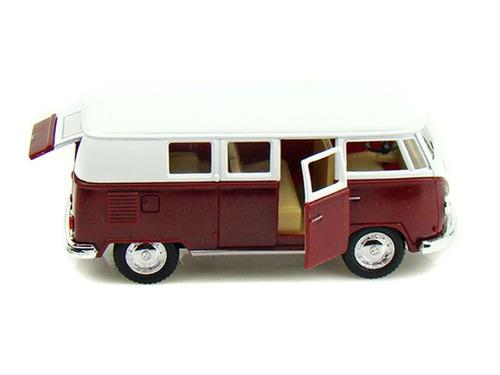 perudiecast kinsmart vw volkswagen classical bus 1962 1:32