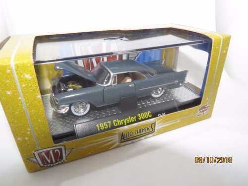 perudiecast m2 machines chrysler 300f 1960 escala 1:64