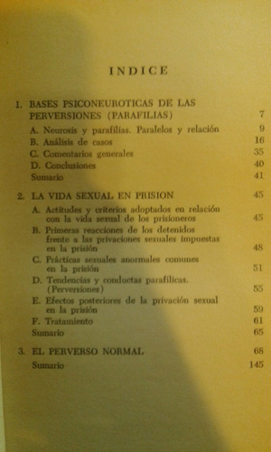 perversiòn sexual y sexualidad carcelaria. karpman.