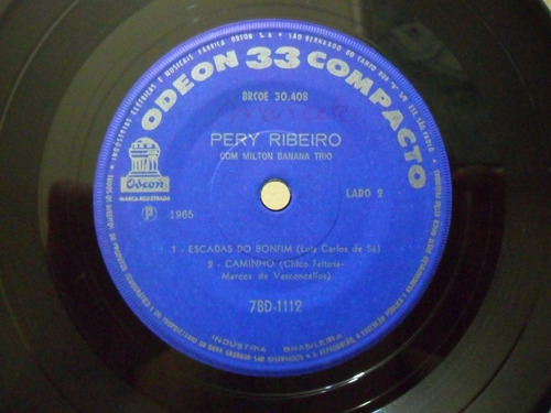 pery ribeiro com milton banana 1965 bossa compacto 4 faixas