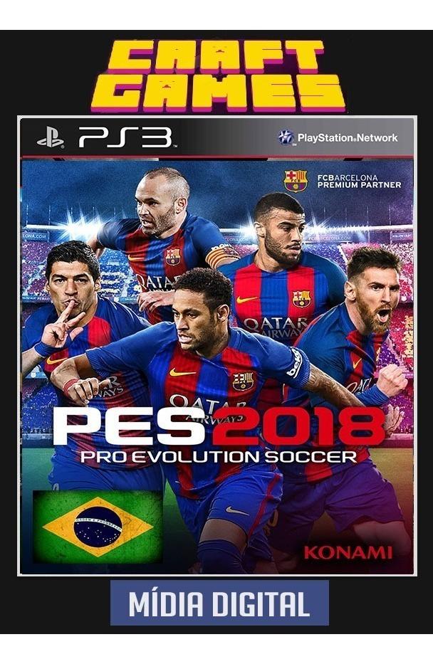 Pes 18 Proevolution Soccer 2018 Ps3 Digital Psn Pt-br