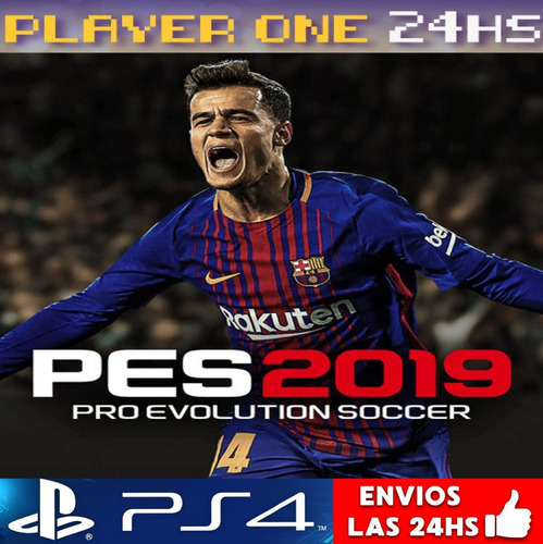 pes 19 ps4 digital pro evolution 2019 latino 1° | 50% off
