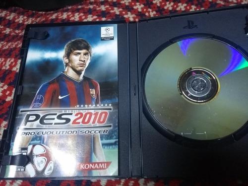 pes 2010 pro evolution soccer ps2