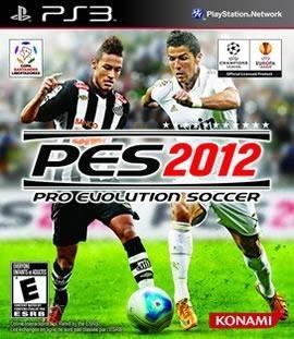 pes 2012 playstation 3 +manual.