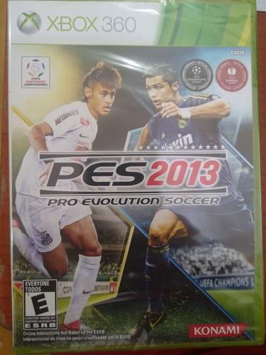pes 2013 pro evolution soccer 2013, nuevo y sellado