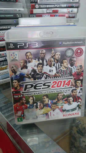 pes 2014 pro evolution soccer 14 original ps3 midia fisica