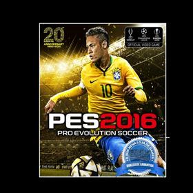 Pes 2016 Ps3 Cod Psn -10primeiros Concorem Um Jogo Físico !!