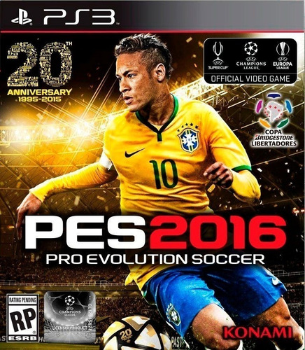 pes 2016 ps3 original entrega inmediata