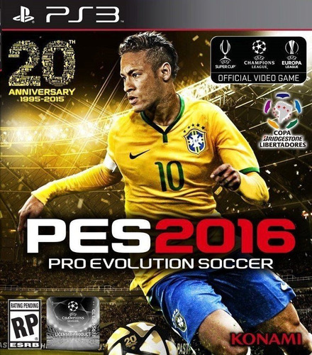 pes 2016 ps3 - pro evolution soccer 2016 español - sellado