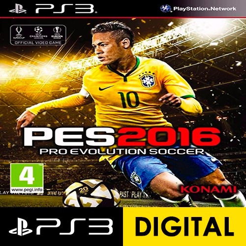 pes 2016 ps3 pro evolution soccer 2016 incluido pass online