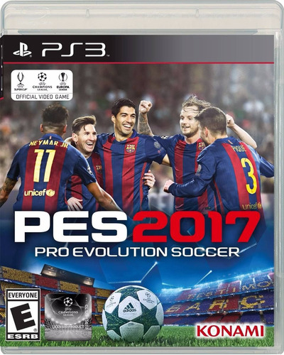 pes 2017 ps3 pro evolution soccer 2017 pes17 disco fisico