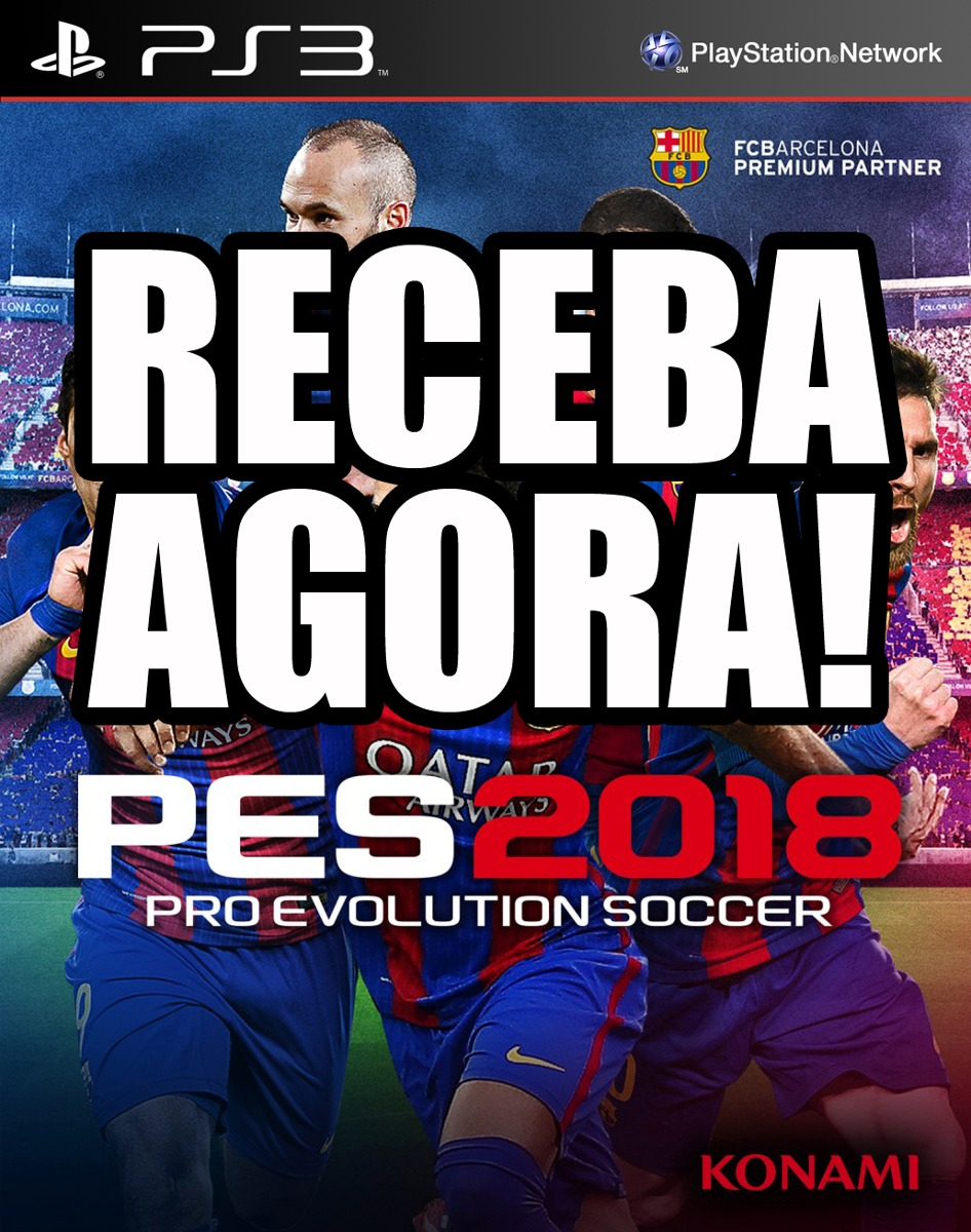 Comprar Pro Evolution Soccer Pes 2018 Ps3 Konami