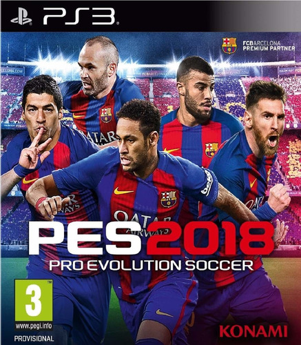 pes 2018 pro evolution soccer formato digital ps3 latino