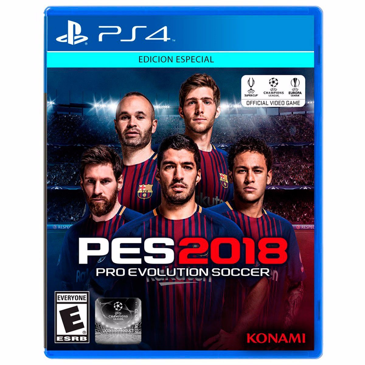 Pes 2018 Ps4 Fisico Juegos Playstation 4 Pro Evolution 18 1 199