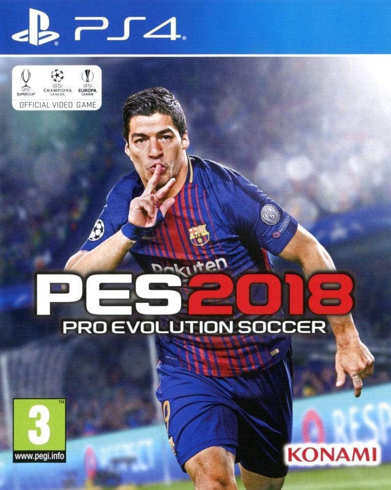 Pes 2018 Ps4 Pro Evolution Soccer Fisico Sellado Juego Play 799