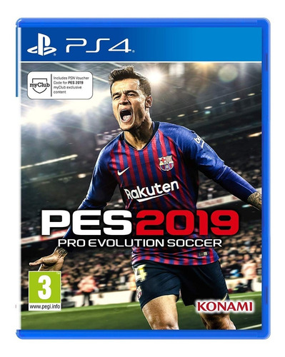 pes 2019 pro evolution ps4 jugas con el mio 50 % off