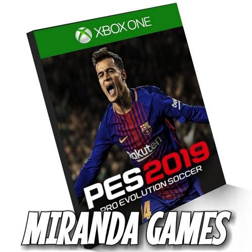 pes 2019 pro evolution soccer 19 xbox one digital português
