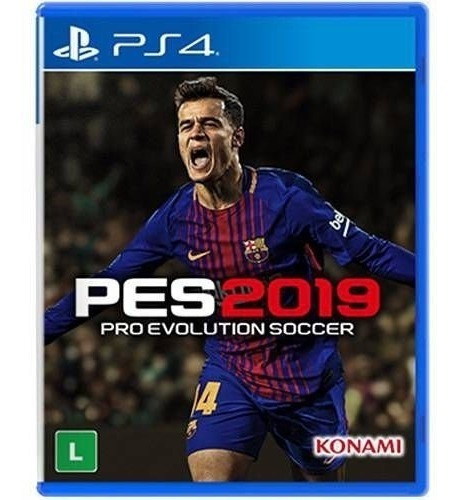 pes 2019 ( pro evolution soccer 2019 ) - ps4 - mídia física
