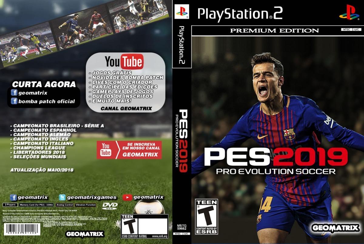 Pes 2019 Ps2 Playstation 2 60 00 En Mercado Libre