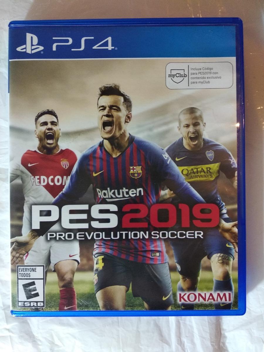 Pes 2019 Ps4 Juego Fisico Usado Sevengamer 2 050 00 En Mercado Libre