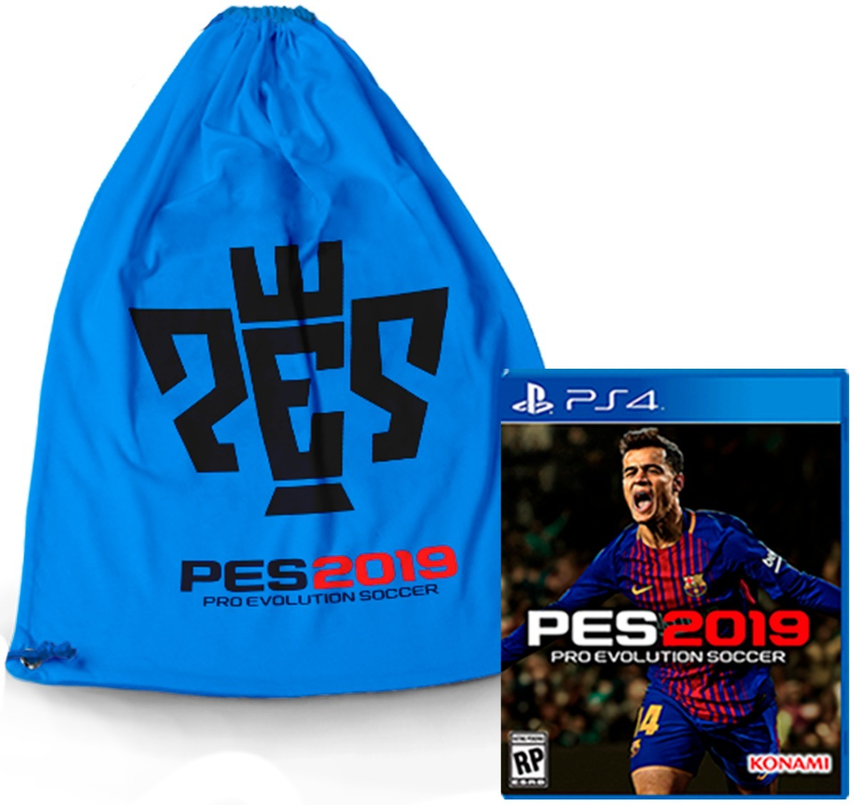 Pes 2019 Ps4 Pes 19 Ps4 Juego Playstation 4 Obsequio Tula
