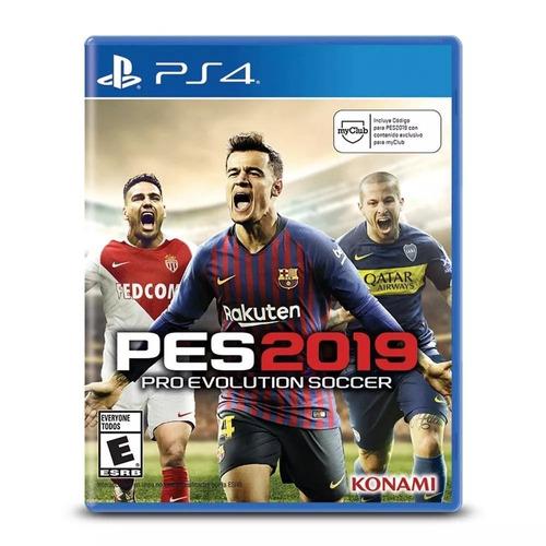 pes 2019 ps4 pro evolution soccer 2019 fisico envio gratis
