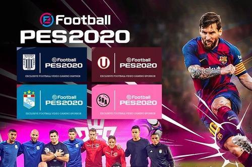 pes 2020 juego ps4 + poster  nuevo sellado en español.