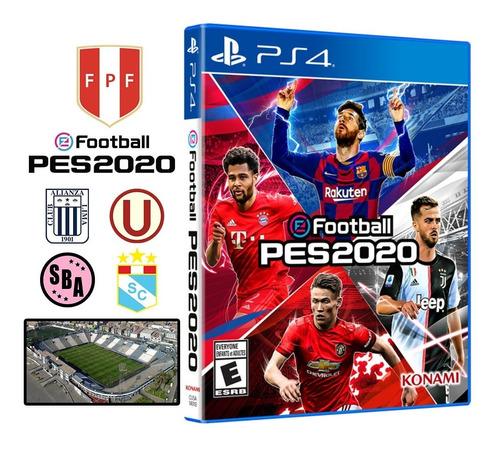 pes 2020 + póster pro evolution soccer 20 ps4 disponible