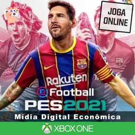 Pes 2021 - Xbox One - Mídia Digital + Brinde