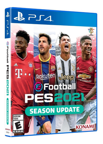 pes 21 ps4 pro evolution físico entrega inmediata yaen stock