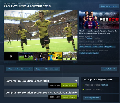 pes pro evolution soccer 2018 premium edition pc steam