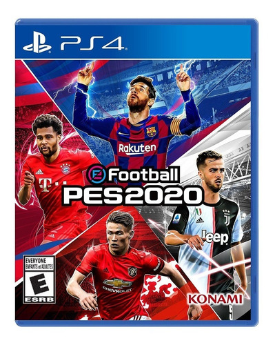pes pro evolution soccer ps4