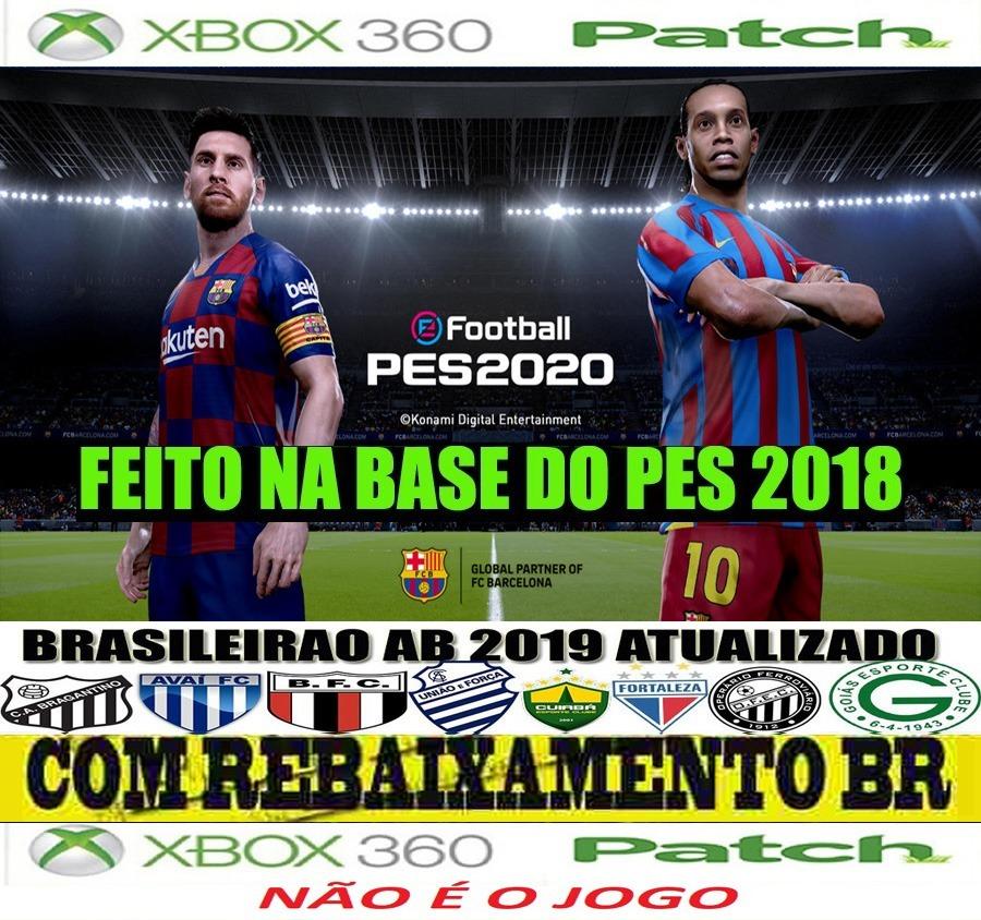 Patch Efootball 2020 Para Pes 2018 Xbox 360 Graficos De Ps4