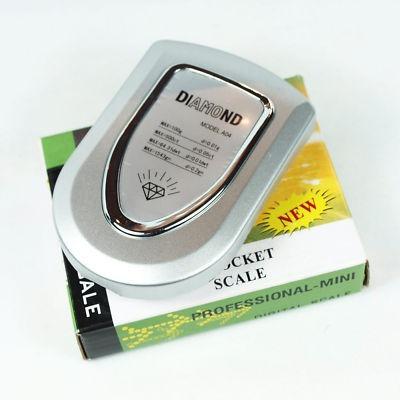 pesa balanza digital de bolsillo 500gr diamond a04 luz azul