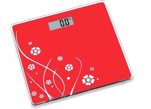 pesa balanza digital vidrio  180 kilos