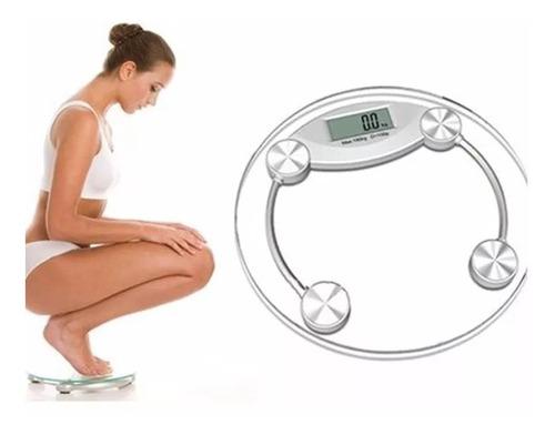 pesa digital de baño 150 kg vidrio templado