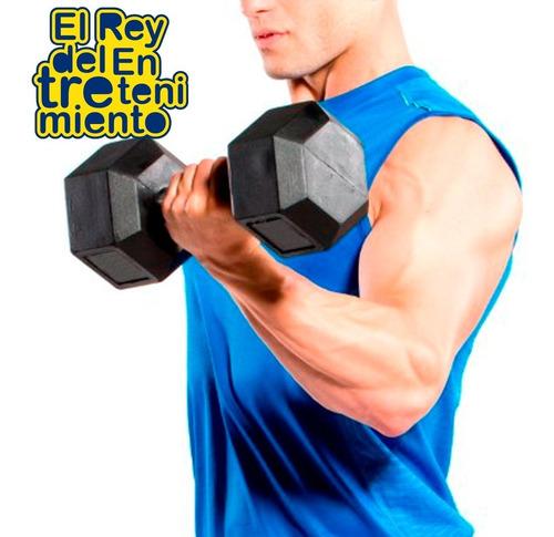 pesa fitness mancuerna