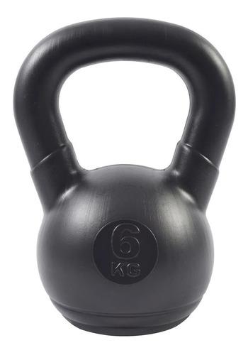 pesa rusa 6 kg pvc kettlebell sol crossfit fitness