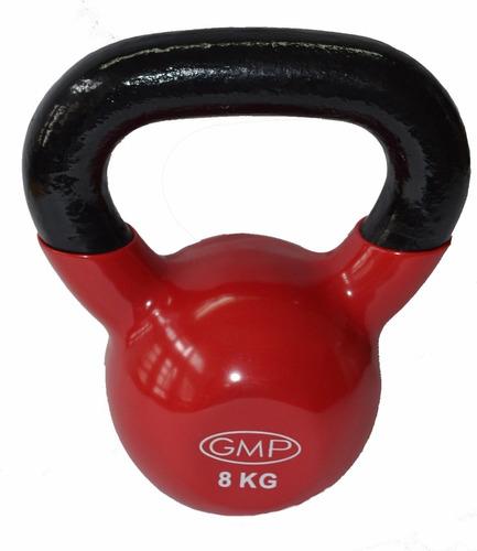 pesa rusa c/vinilo 8kg - entrenamiento funcional - cross fit