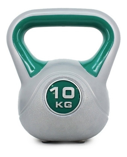 pesa rusa kettlebell 10 kg pvc plastico crossfit funcional