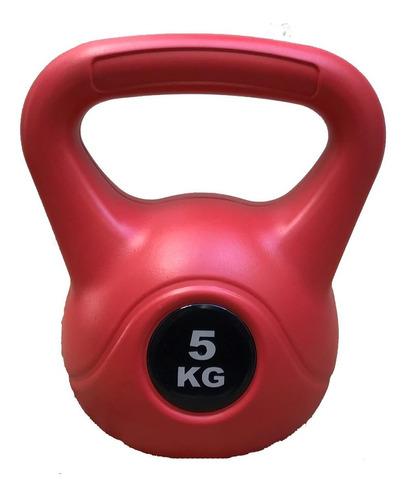 pesa rusa kettlebell 5 kg pvc crossfit funcional importada